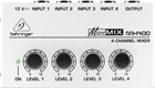 Behringer Micromix MX400 Ultra Low Noise 4 Channel Line Mixer