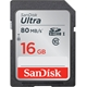 SanDisk 16GB Ultra SDHC UHS-I Card