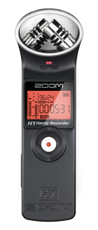 Zoom H1 Audio Recorder & Accessory Kit Bundle