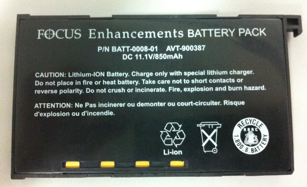 Focus Enhancements Fs 100 Fs 4 Extra Battery 90 Mins Asyf103901 1