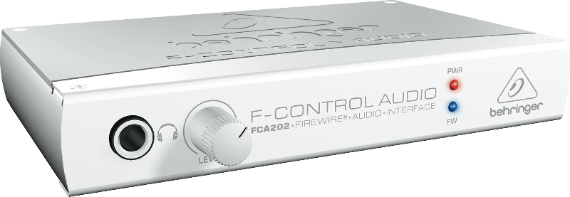 Behringer F-CONTROL FCA202 2 In/2 Out 24-Bit/96 kHz FireWire Interface