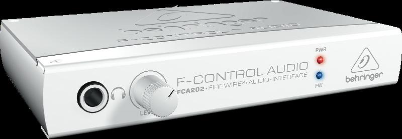 Behringer F-CONTROL FCA202 2 In/2 Out 24-Bit/96 kHz FireWire