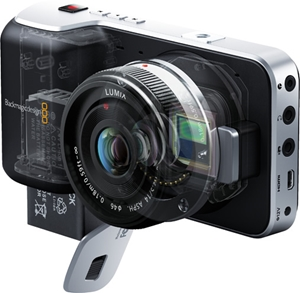 Blackmagic Design Pocket Cinema Camera CINECAMPOCHDMFT Videoguys ...