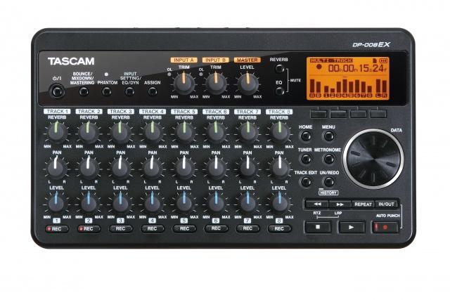 tascam dp 008ex compact 8 track digital multitrack recorder tas dp 008ex videoguys australia. Black Bedroom Furniture Sets. Home Design Ideas
