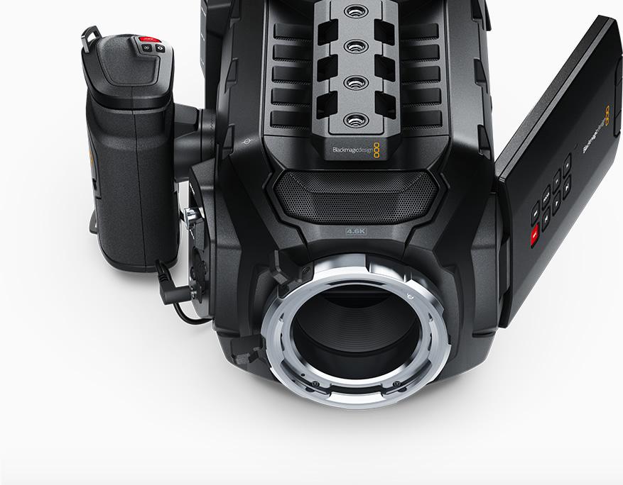Blackmagic Design Ursa Mini 4k Pl Handheld Super 35 Digital Film Camera Cineursam40k Pl Videoguys Australia
