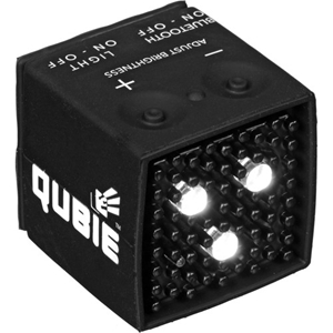 on sale 0bb03 31793 Qubie External Flash and Video Light for iPhone, Android, GoPro and Cameras  (Black)