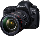 Canon EOS 5D Mark IV Premium Kit (with EF 24-105mm f/4L IS II USM Lens)