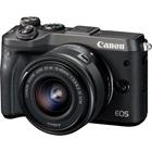 Canon EOS M6 Single Kit w/EF-M15-45ST Black