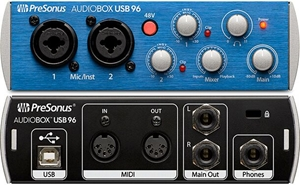 how to use audiobox usb