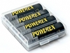 Maha Powerex 2700mAh NiMh AA rechargeable Batteries