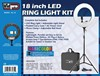 "Vidpro RL-18 LED 18"" Ring Light Kit with Stand and Case"
