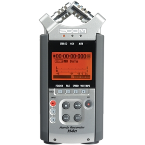Zoom H4n 4 Channel Portable Audio Recorder Fxr004