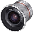 Samyang 200724 12mm F2.0 NCS CS MFT Camera Lens - Silver