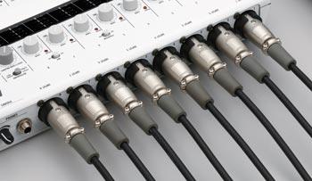 8 XLR inputs