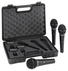Behringer Ultravoice XM1800S Microphone pack (3 Pack in case)