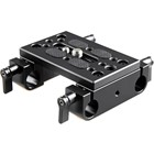 SmallRig 1775 Baseplate with Dual 15mm Rod Clamp