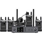 Hollyland T1000 Full-Duplex Intercom System with Four Beltpack Transceivers