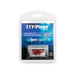 Etymotic Research ER-20 ETY-Plugs Triple-Flange Earplugs (Standard, Clear/Blue)