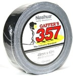 "Nashua 357 2"" (48mm x 40m) Gaffer Tape - Black"